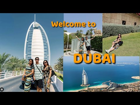 A day in my life in Dubai: Burj Al Arab Hotel +Dubai Metro experience