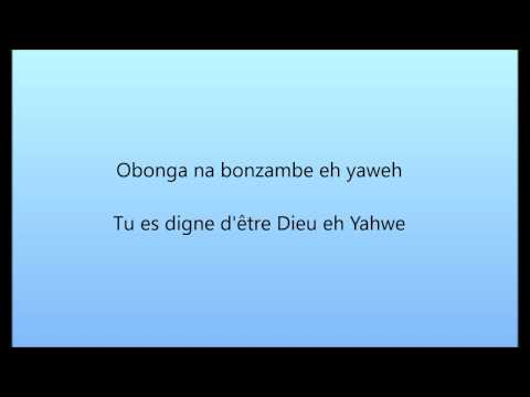 Moise Mbiye - OZA MOSANTU feat Bébé Souza Paroles/Lyrics Français/Lingala
