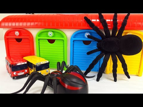 Marvel Iron Man & Tayo The Little Bus Garage Toy Insect Spider Monster Thomas & Friends