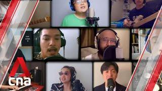 Livin' CoVida Loca: Singapore talents perform parody of iconic Ricky Martin tune