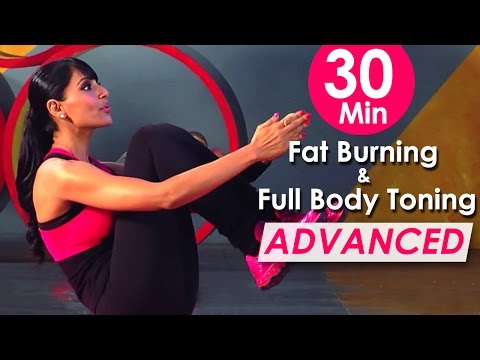 30 Min Fat Burning & Full Body Toning Workout Advanced  – Bipasha Basu Fit & Fabulous You