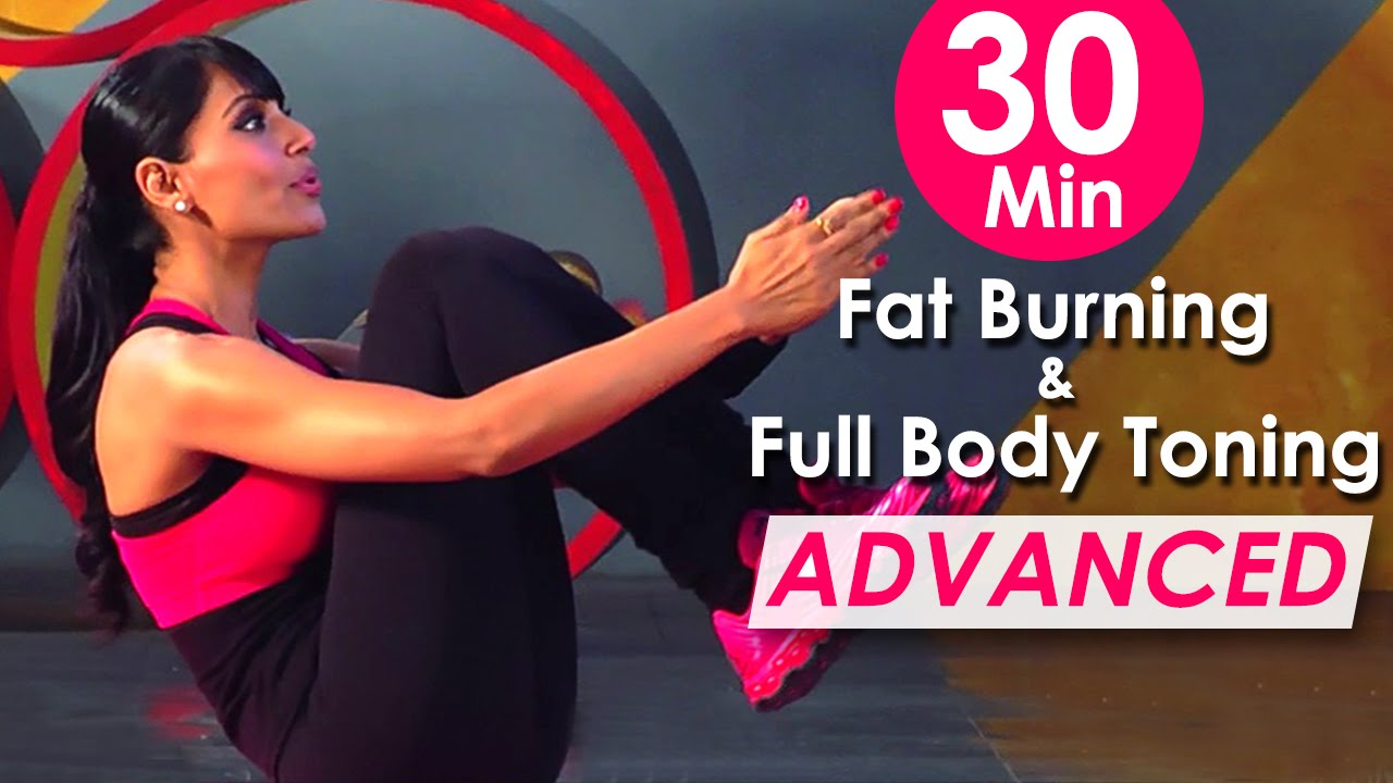 30 Min Fat Burning & Full Body Toning Workout (Advanced ) – Bipasha Basu Fit & Fabulous You