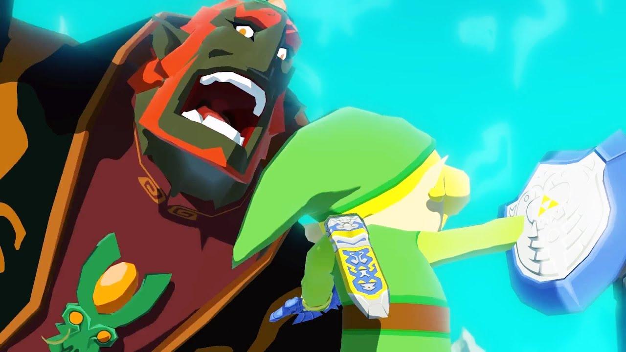 Zelda Wind Waker Hd Ganondorf Final Boss Fight And Ending 1080p 60fps