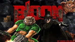 bLOOM 1.666 Demo, Blood & Doom crossover - All Levels Work In Progress