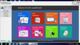 HIZLISINAV SINAV HAZIRLAMA (TEST)