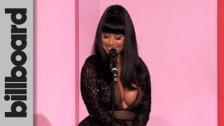 Nicki Minaj Accepts The Game Changer Award  Women In Music