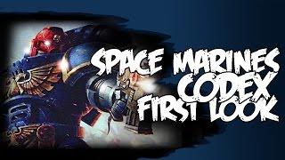 Space Marine Codex 2015 Review Warhammer 40k