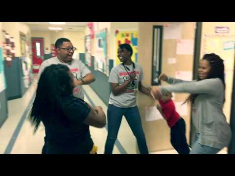 Lean and Dabb at South Baton Rouge Charter Academy