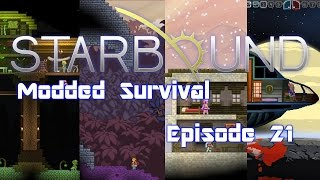 Starbound (Modded) - 021 - Farming Living Root the Hard Way