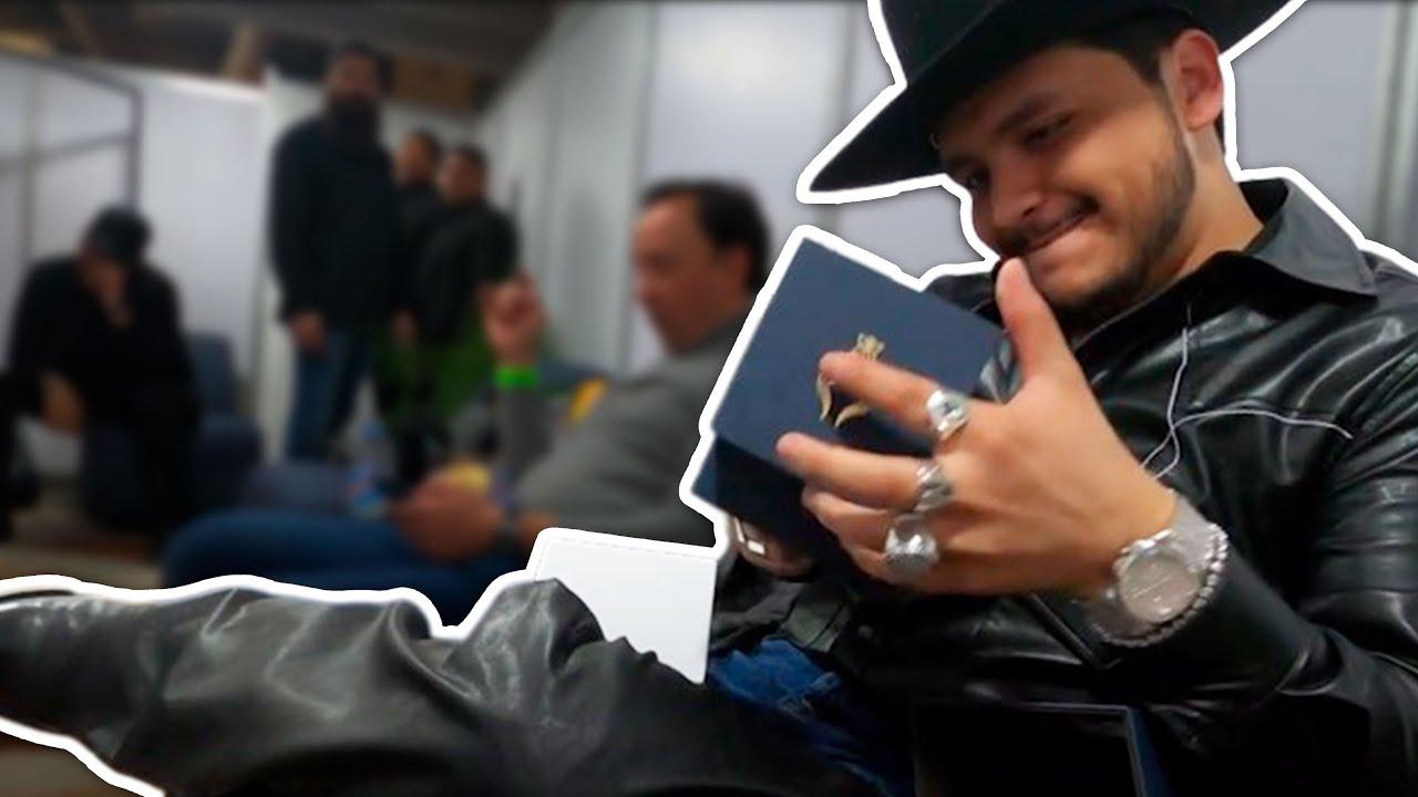 Christian Nodal y Braggao