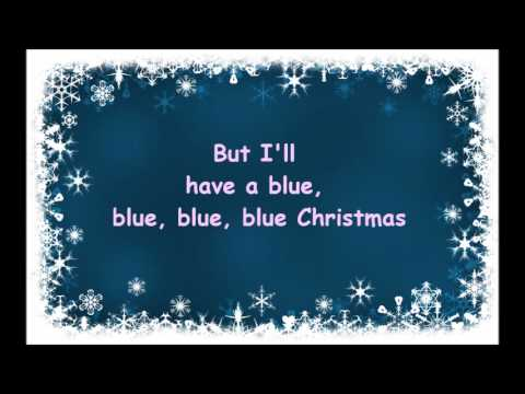 Blue Christmas- Elvis Presley And Martina McBride Lyrics