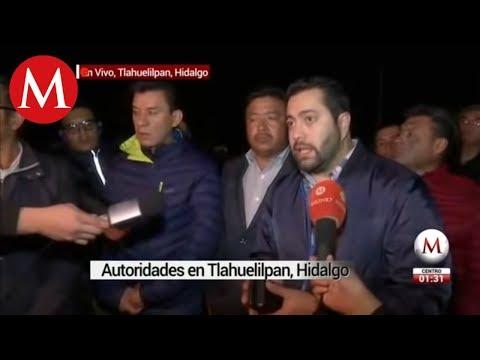 Pobladores y autoridades dialogan por explosión en ducto de Hidalgo
