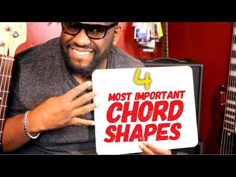 4 MOST IMPORTANT BASS CHORD SHAPES | Online Bass Lessons w/ Daric Bennett
