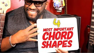 4 MOST IMPORTANT BASS CHORD SHAPES   Online Bass Lessons w/ Daric Bennett