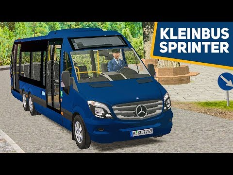 OMSI 2: Kleinbus MB City SPRINTER 77 in Waldhofen! | Bus-Simulator