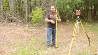 How to Use a Rotary Level to find a Contour Line