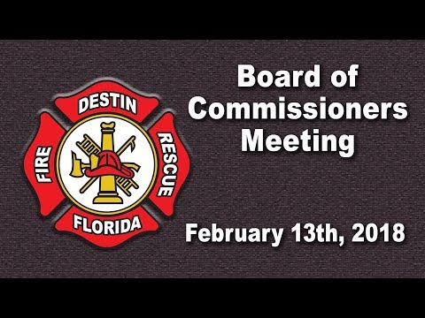 DFCD Board of Commissioners Meeting 02/13/18