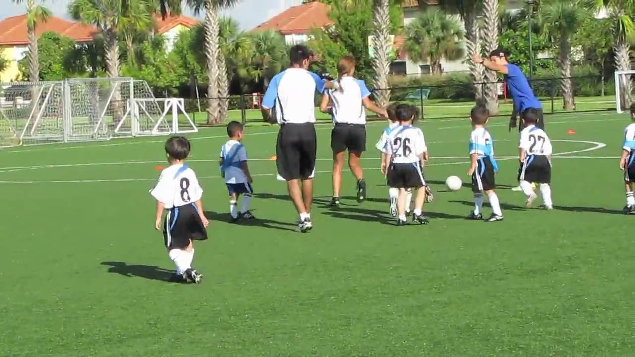 Doral Soccer Club 3 4 Year Old Hd Youtube