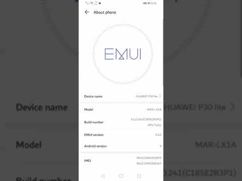 How to change SMS center number Huawei emui 9