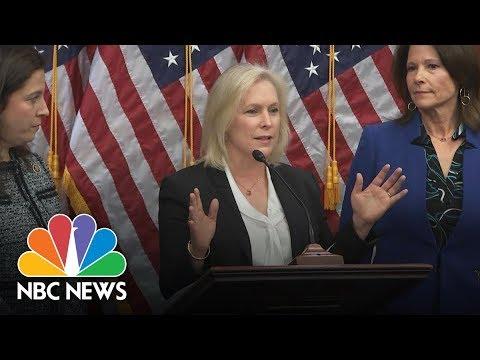 Senator Kirsten Gillibrand On Senator Al Franken:
