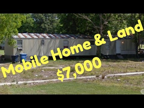 Mobile Home For Sale, Land Included $7K