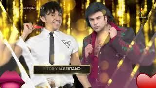 Nosotros los guapos El victor y Albertano premio tv novelas 2018