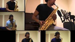 Pharrell Williams - Happy - Alto Saxophone by charlez360