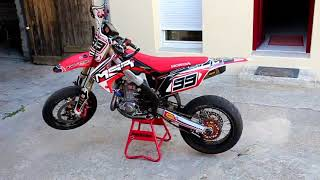 450 CRF supermot SCUMMYBRAAP518 TEST VIDEO code promo