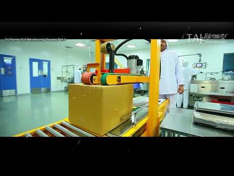 Taj Pharmaceuticals Limited (Full Manufacturing Process) {taj Pharmaceuticals Limited: Mumbai}