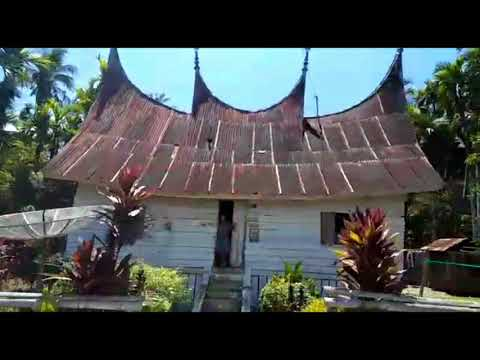 Perkampungan Rumah Adat Minang Sijunjung