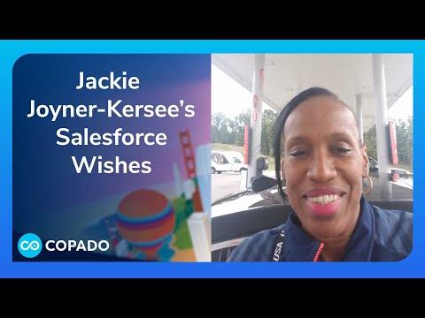 Jackie Joyner Kersee's Salesforce Wishes