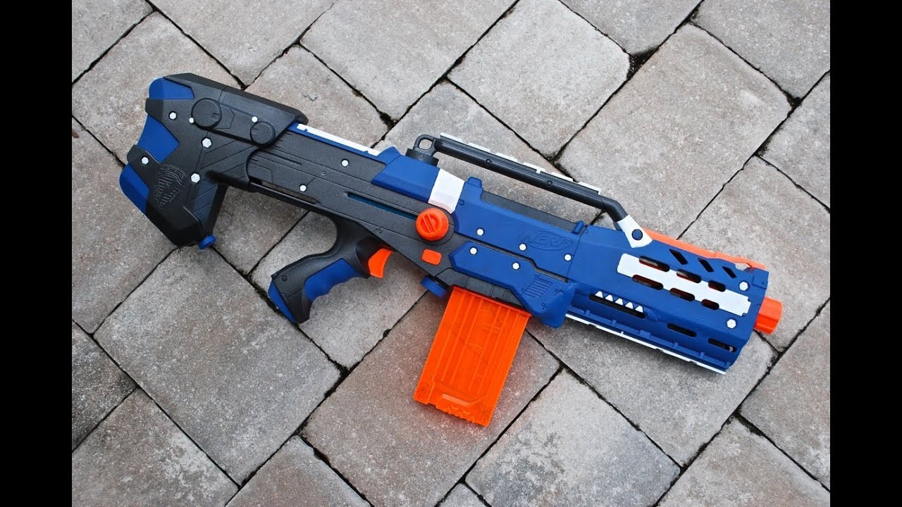 [MOD] Nerf Longshot Modification - YouTube  [MOD] Nerf Long...