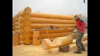 BRUNARICE --UNILOG-log home Slovenia -chainsaw master-