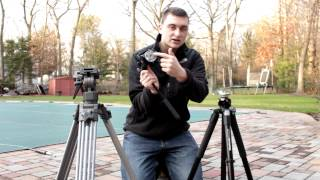 Standard VS 75mm Bowl Tripods: Differences