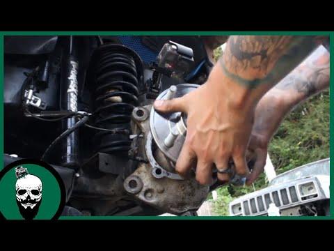 How To Replace A Wheel Hub On A Jeep JK/JKU