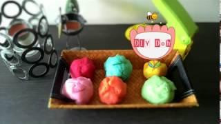 Cara Membuat Play Doh / Fun Doh / Lilin / Plasticin / Clay yang Tahan Lama Tidak cepat kering