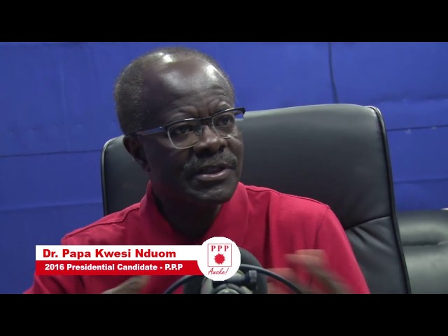 Dr  Nduom on Ahomka 99.5 FM