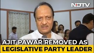 Ajit Pawar Removed As NCP Legislative Party Leader After Maharashtra Coup