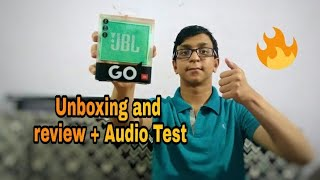 JBL GO Speaker Unboxing and review + Audio Test || Technical Chaitanya