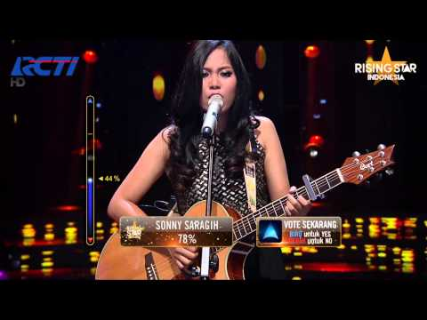 """Ghaitsa Kenang """"Don't Look Back In Anger"""" Oasis - Rising Star Indonesia Great 8 Eps 20"""