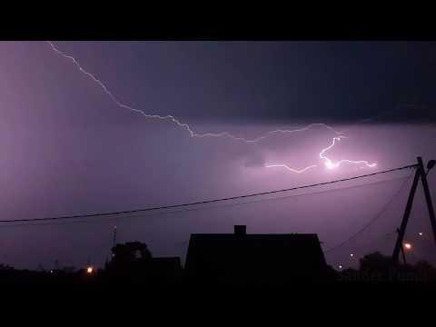 Rakvere 12.08.2017 torm ja äike