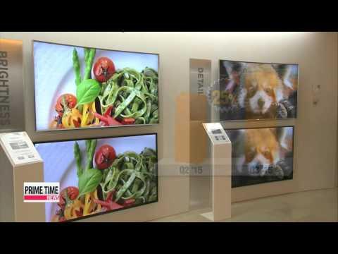 Korea′s panel makers sweep global market   UHD TV패널시장 장악에 나서