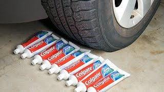 CAR VS TOOTHPASTE  - EXPERIMENT
