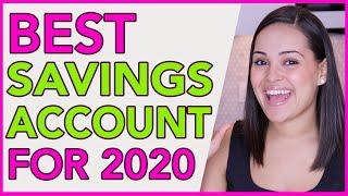 BEST Savings Account in 2020!!!