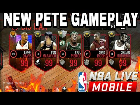 102 OVERALL BIG MAN LINEUP! NEW PETE GAMEPLAY!