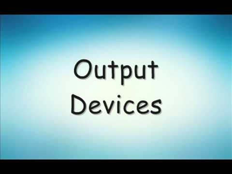 Pictures of different input and output devices pdf