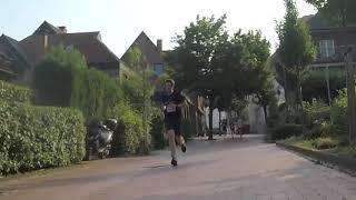 Die letzten 1km zur neuen Bestzeit 33:54 auf 10km :) Battle 1./2. - Steinfurter Abendlauf 2018