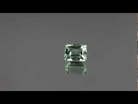 Transparent and Clean 3.25 carats Hiddenite Gemstone.mov