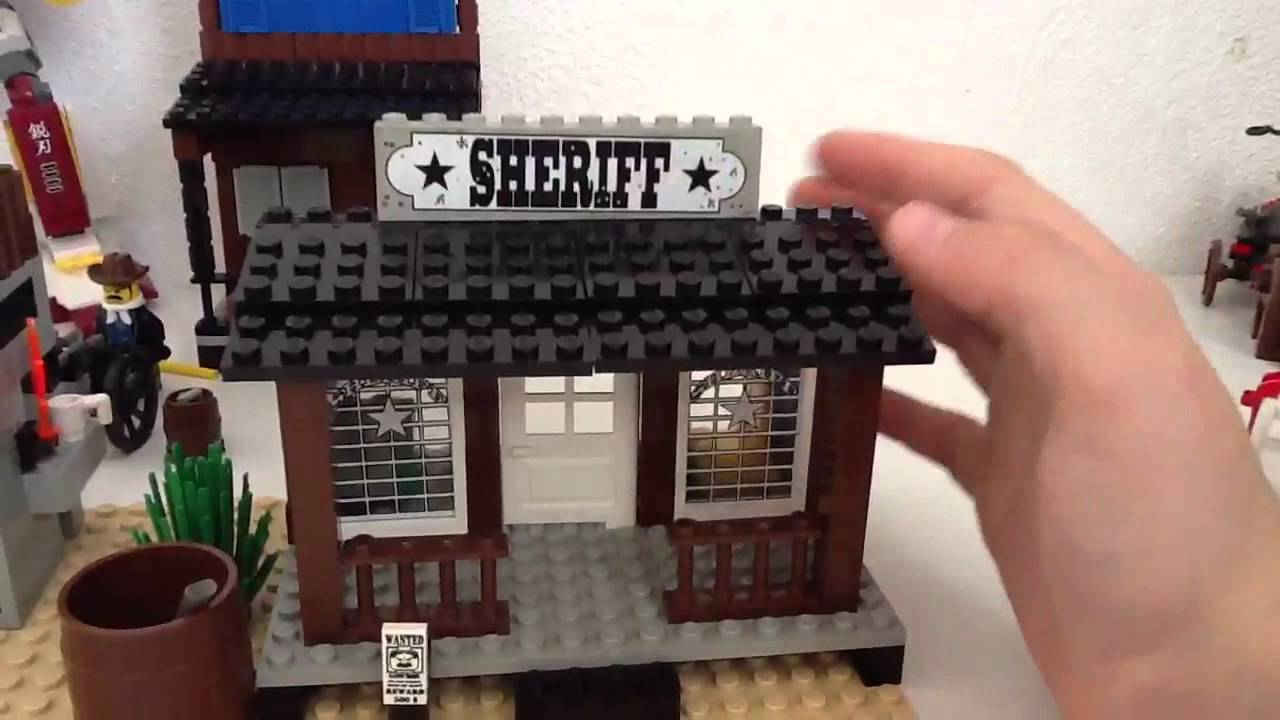 Lego 1996 Western 6755 Sheriff S Lock Up Review Youtube