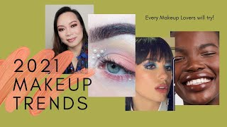 2021 EASY MAKEUP TREND LOOKS EVERYONE WILL BE TRYING Featuring Teviant and VicexAnne eye palette